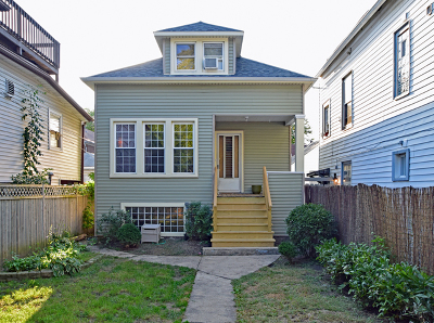 Single Family Home Price Change: 4334 North Lawndale Avenue