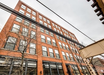 Chicago Condo/Townhouse Re-Activated: 1101 West Lake Street #3D