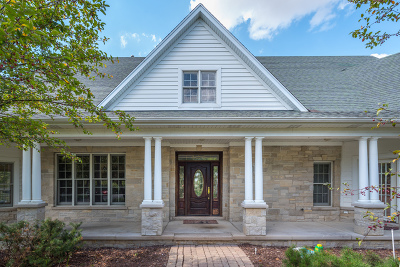 De Kalb, Dekalb, Maple Park, Sycamore, Elburn, Geneva, Gilberts, Hampshire, St. Charles Single Family Home For Sale: 43w035 Route 64 Highway