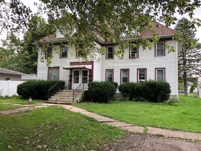 Genoa Multi Family Home For Sale: 207 North State Street