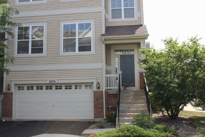Grayslake Condo/Townhouse Price Change: 1874 Watercolor Place #1874