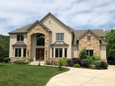 Winfield Single Family Home New: 0s480 Rebecca Lane
