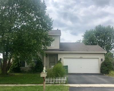 Romeoville Single Family Home New: 232 Stamford Lane