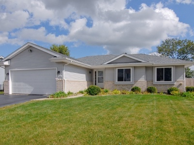 Plainfield Single Family Home New: 1818 Great Falls Drive