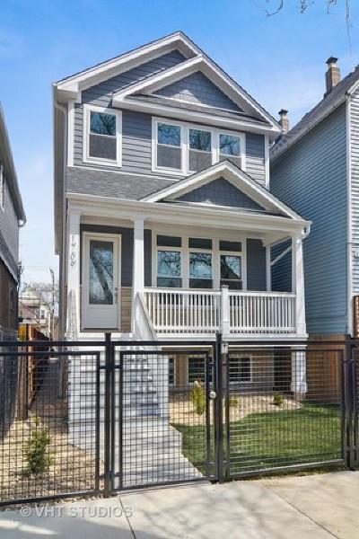 Chicago Single Family Home New: 1709 North Washtenaw Avenue