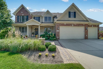 Geneva Single Family Home New: 3488 Winding Meadow Lane