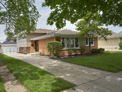 Oak Lawn  Single Family Home New: 10028 South Komensky Avenue