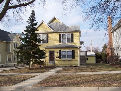 Hinsdale Single Family Home New: 217 West 3rd Street