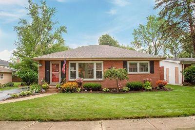 Homewood Single Family Home New: 18511 Ashland Avenue