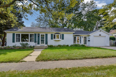 Wheaton Single Family Home For Sale: 720 East Harrison Avenue