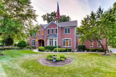 Glen Ellyn Single Family Home For Sale: 470 Saint Charles Road