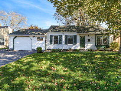 Streamwood Single Family Home For Sale: 923 South Bartlett Road