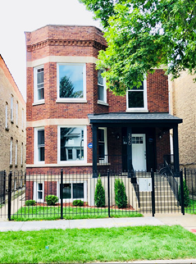 Chicago Multi Family Home New: 3920 North Albany Avenue