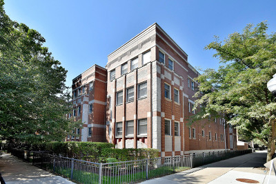 Chicago Condo/Townhouse New: 1402 West Byron Street #1W