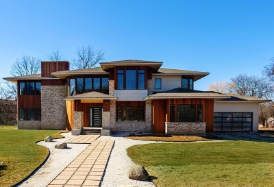 Northbrook Single Family Home New: 1300 Edgewood Lane