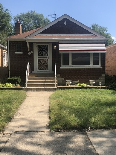 Riverdale Single Family Home New: 14207 South Wabash Avenue