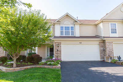 Kane County Condo/Townhouse New: 742 Lancaster Drive