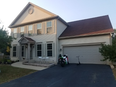 Bartlett Single Family Home New: 2132 Fieldcrest Drive