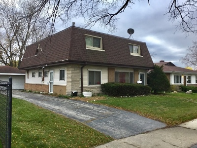 Calumet City Single Family Home Contingent: 853 161st Street