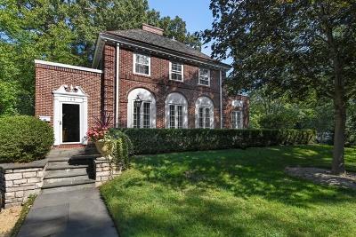 Winnetka Single Family Home Price Change: 109 Fuller Lane