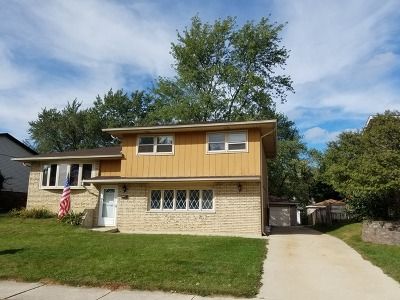 Tinley Park Single Family Home New: 7720 162nd Place