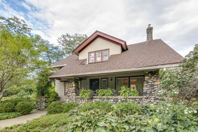 Chicago Single Family Home New: 3663 North Avers Avenue