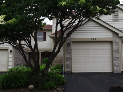 Hoffman Estates Condo/Townhouse New: 980 Butter Creek Court