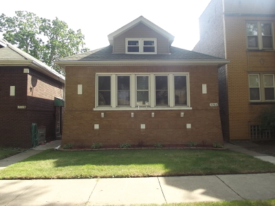 Chicago IL Single Family Home New: $224,900