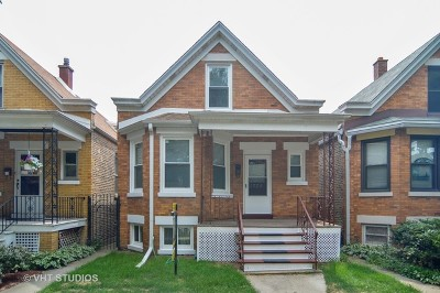 Single Family Home For Sale: 2725 West Nelson Street