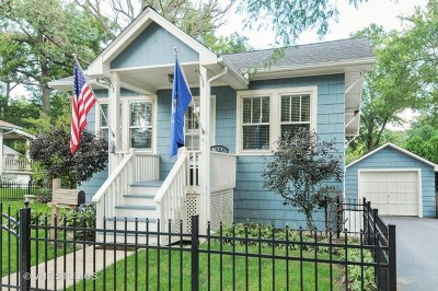 Glen Ellyn Single Family Home New: 437 Carleton Avenue