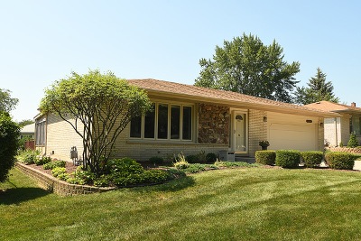 Palos Hills Single Family Home For Sale: 8847 West 97th Street