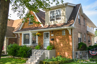 Chicago Single Family Home New: 4154 North Meade Avenue