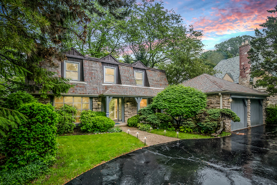 Wilmette Single Family Home New: 1148 Sheridan Road