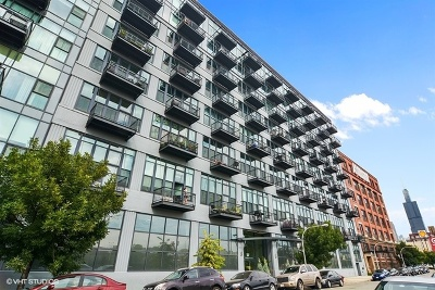 Chicago Condo/Townhouse New: 1224 West Van Buren Street #709