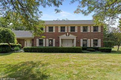 Glenview Single Family Home New: 1601 Del Ogier Drive