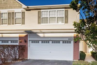 Plainfield Condo/Townhouse New: 24210 West Walnut Circle