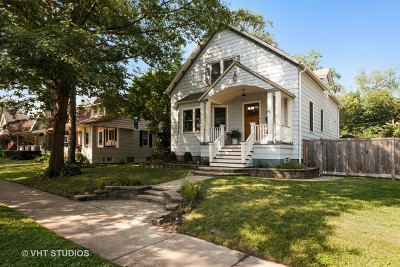 Wilmette Single Family Home New: 1314 Forest Avenue