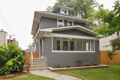 Oak Park Single Family Home For Sale: 912 Lyman Avenue