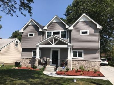 Elmhurst Single Family Home New: 457 North Van Auken Street