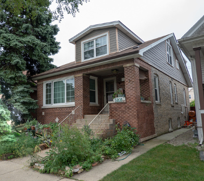 Chicago Single Family Home New: 5205 West Berenice Avenue