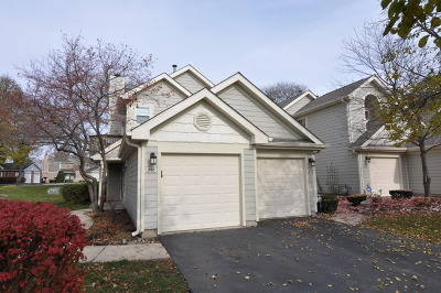 Palatine Condo/Townhouse Re-Activated: 258 West Hamilton Drive