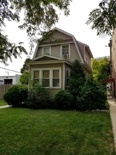 Chicago Single Family Home New: 3214 North Keating Avenue