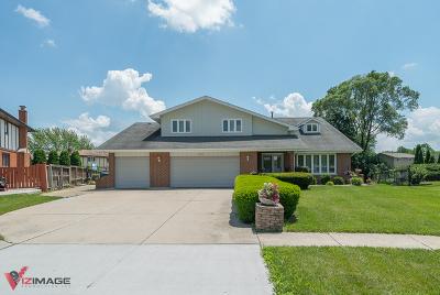 Homer Glen Single Family Home New: 14523 South Holm Court