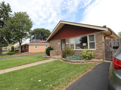Chicago Ridge  Single Family Home New: 11037 Menard Avenue