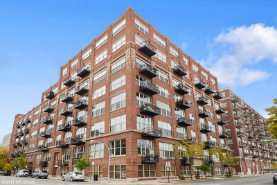 Chicago Condo/Townhouse New: 1500 West Monroe Street #507