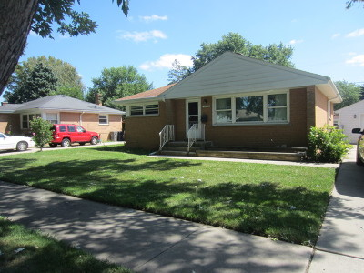 Elgin IL Single Family Home New: $184,900