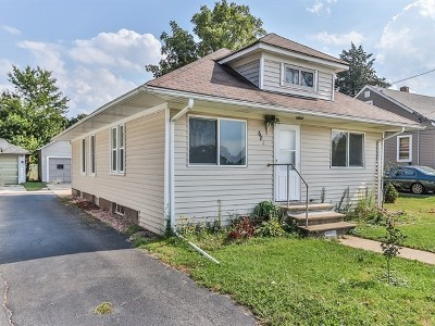 Elgin IL Single Family Home New: $134,900