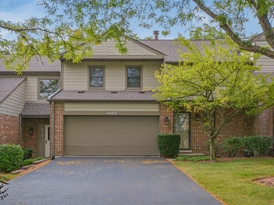 Naperville Condo/Townhouse New: 23w389 Green Trails Drive