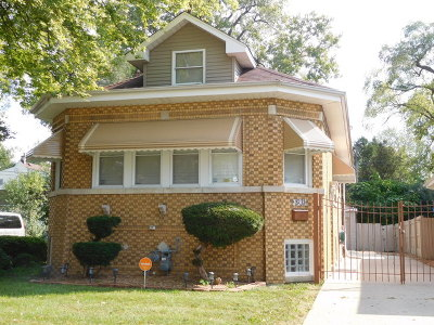 Maywood Single Family Home For Sale: 1931 South 21st Avenue