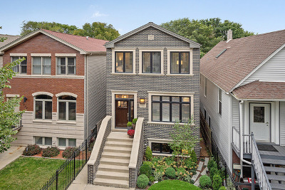 Chicago Single Family Home New: 1753 North Troy Street